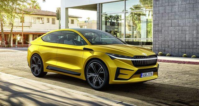 La concept car della casa ceca è pronta al debutto al Salone dell'auto di Ginevra 2019