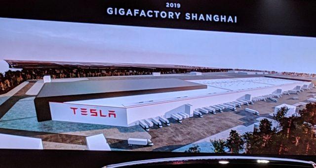 Elon Musk mostra le prime immagini di come sarà la nuova Gigafactory 3 a Shanghai a fine anno