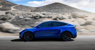 Tesla Model Y è stato ufficialmente rivelato, ecco le prime immagini del suv