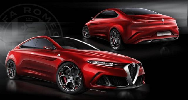 Nonostante il silenzio della dirigenza del Biscione, tra fan e addetti ai lavori si continua a parlare della futura Alfa Romeo GTV