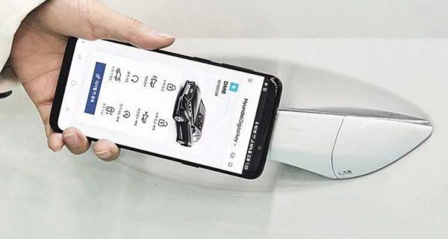 Una tecnologia innovativa della casa automobilistica coreana trasforma un cellulare in una chiave di auto
