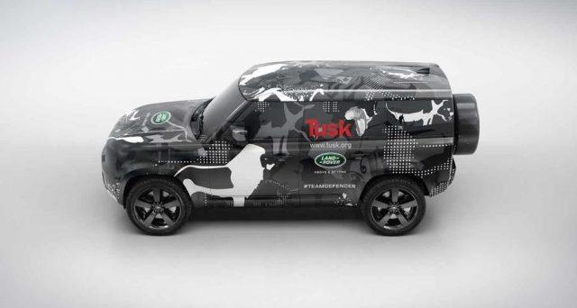 Il nuovo Land Rover Defender è pronto per il lancio entro la fine dell'anno e l'azienda ha rilasciato un nuovo lotto di immagini