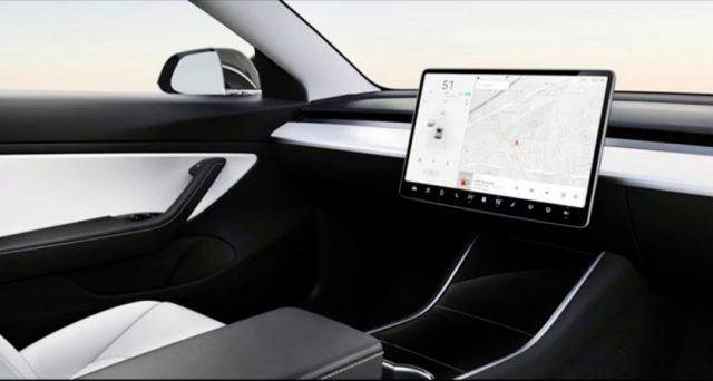 Tesla ha pubblicato la prima immagine di come sarà la sua vettura senza volante quando arriverà sul mercato
