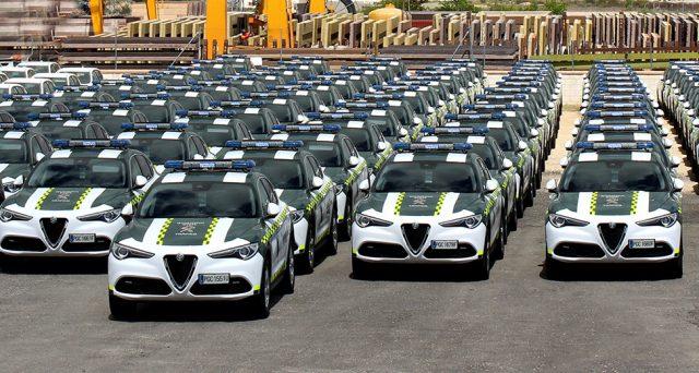 Alfa Romeo Stelvio: consegnate nelle scorse ore ufficialmente 97 unità alla Guardia Civil in Spagna nel corso di una cerimonia ufficiale