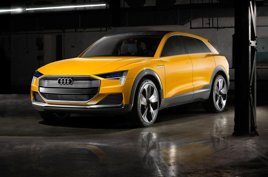 Audi lancerà un'auto a idrogeno nel 2021