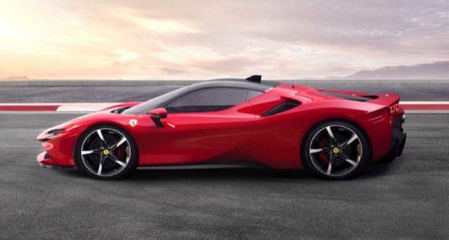 Ferrari SF90 Stradale è il nome della nuova super car ibrida del cavallino rampante che sarà svelata questa sera