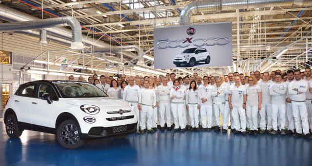 Nelle scorse ore prodotto l'esemplare numero 500 mila del crossover di Fiat nello stabilimento FCA di Melfi