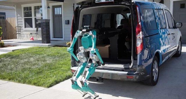 Digit è la soluzione sperimentata da Ford per le consegne autonome di pacchi
