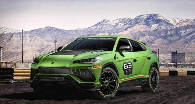 Lamborghini Urus Performante sarà basato sul concept Urus ST-X mostrato lo scorso anno dalla casa automobilistica del Toro