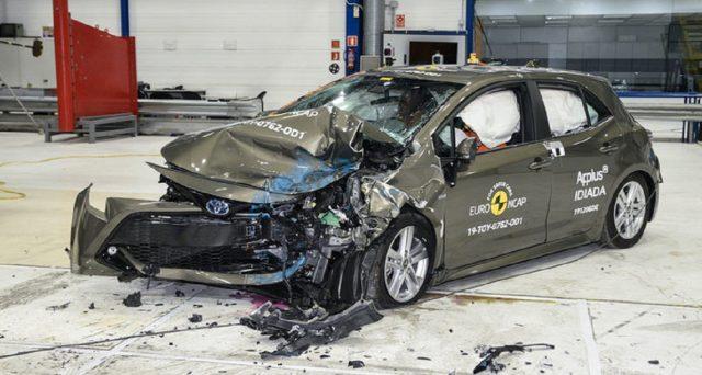 L'ultima versione di Toyota Corolla ha ottenuto 5 stelle nei crash test di Euro NCAP