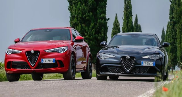 Nuove Alfa Romeo Giulia e Stelvio