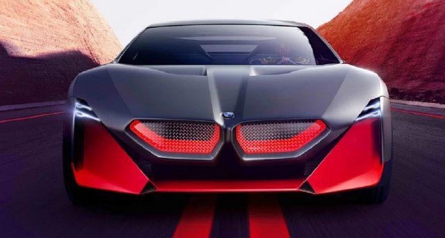 Il gruppo BMW manifesta i suoi piani per una nuova coupé sportiva orientata alla guida con l'introduzione di  una Bmw Vision M Next