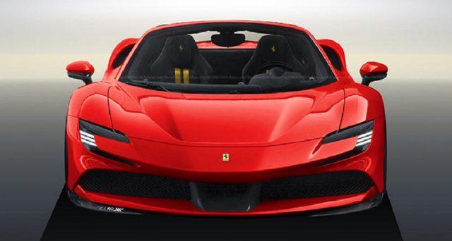 Un rendering apparso sul web nelle scorse ore mostra come sarebbe una versione spider di Ferrari SF90 Stradale