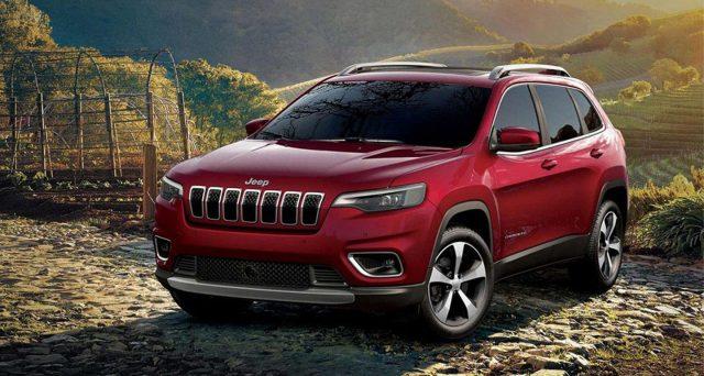 Per il secondo anno di fila Jeep Cherokee nominata veicolo