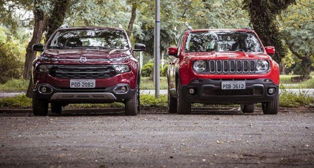 Fiat Chrysler in Brasile fa faville grazie ai suoi principali brand Jeep e Fiat che crescono bene nel più importante mercato latino americano