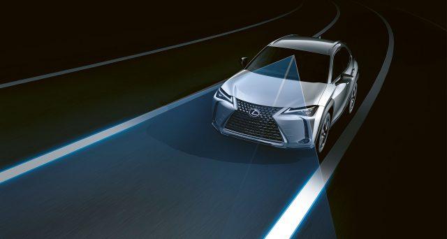 Lexus Safety System + sarà una caratteristica standard in tutti i veicoli Lexus degli Stati Uniti a partire dall'anno modello 2020