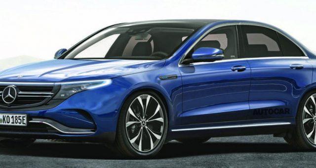 Mercedes EQE è il nome del nuovo modello completamente elettrico confermato dalla casa tedesca nelle scorse ore