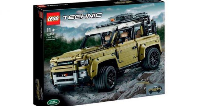 Le prime immagini di un nuovo kit Lego Technic sembrano svelare il design definitivo della nuova Land Rover Defender