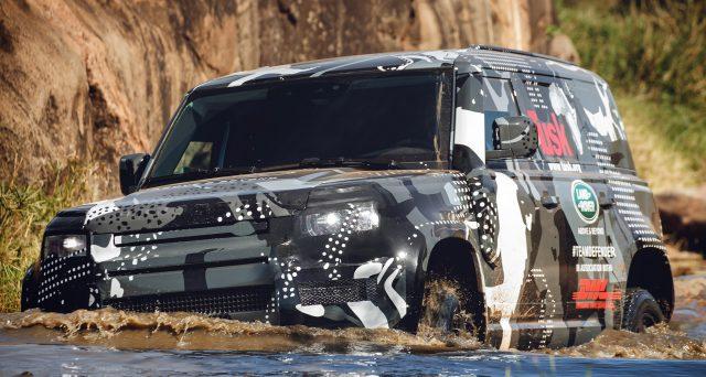 La nuova generazione di Land Rover Defender sarà venduta anche in Cina