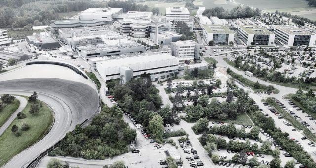 Il Centro di sviluppo Porsche a Weissach ha messo in funzione un nuovo centro di collaudo