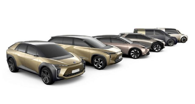 Toyota accelera i suoi piani per l'elettrificazione della gamma e annuncia 6 nuovi EV