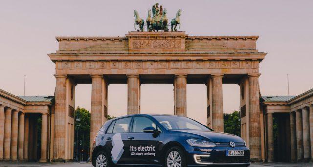 Volkswagen ha lanciato ieri a Berlino il servizio di Car Sharing con sole auto elettriche WeShare
