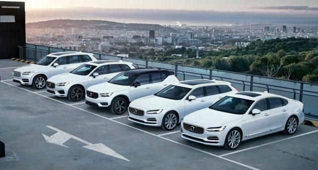 Volvo diventa la prima casa automobilistica ad avere in gamma versioni ibride plug-in di tutti i suoi modelli