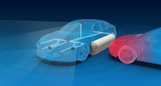 ZF ha mostrato il suo prototipo di sistema airbag esterno, che mira a fornire una rete di sicurezza extra in caso di incidente laterale