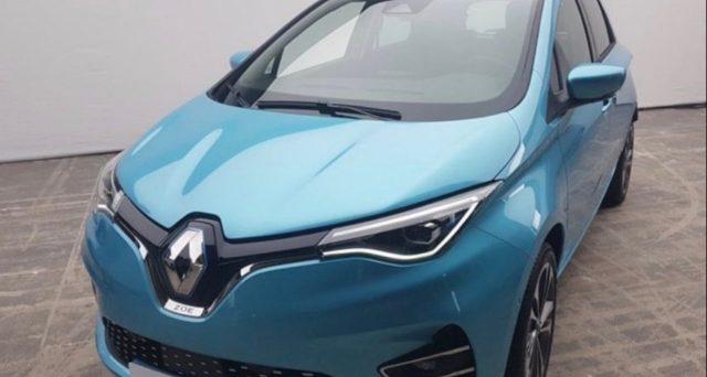 Nuova Renault Zoe: trapelata la prima immagine sul web in attesa del suo debutto che avverrà il 17 giugno