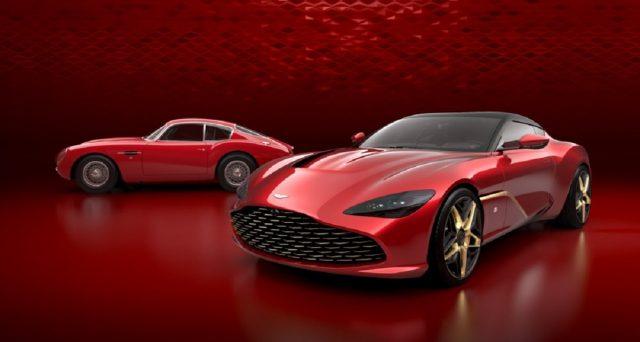 Rivelato il design esterno della prossima DBS GT Zagato in una serie di rendering ufficiali