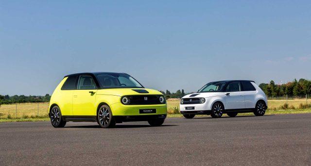 La nuova Honda e è stata progettata per offrire un'esperienza di guida eccezionale in ambienti urbani
