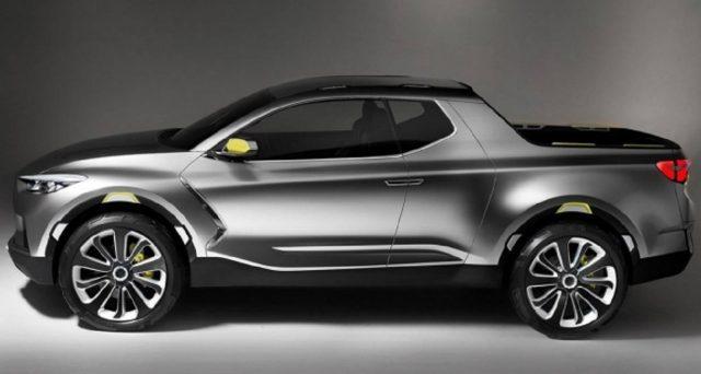 Hyundai ha confermato che la produzione del pick up Hyundai Santa Cruz inizierà nel 2021