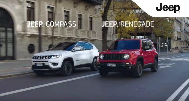 Jeep Renegade e Compass leader nelle vendite in Brasile, i due suv sono nella top ten delle auto più vendute nel paese