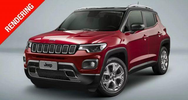 Entro la fine del 2022 la gamma di Jeep si dovrebbe arricchire con l'arrivo di un suv compatto