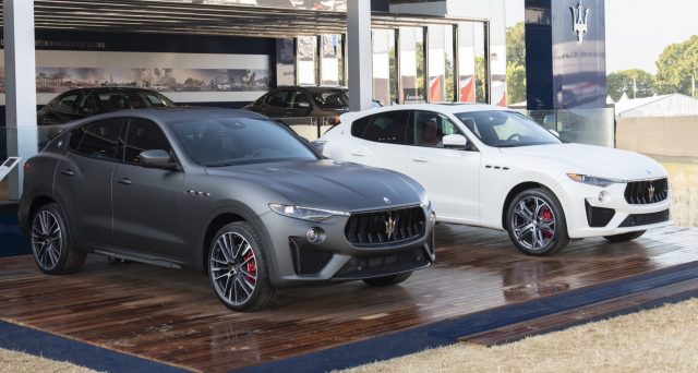 Nel fine settimana del 26 ° Goodwood Festival of Speed, Maserati Levante Trofeo ha fatto il suo debutto nel Regno Unito