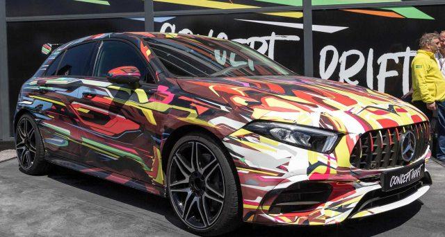 Mercedes-AMG ha scelto il Goodwood Festival of Speed 2019 per togliere la copertura dalla nuovissima A45 S e CLA 45 S