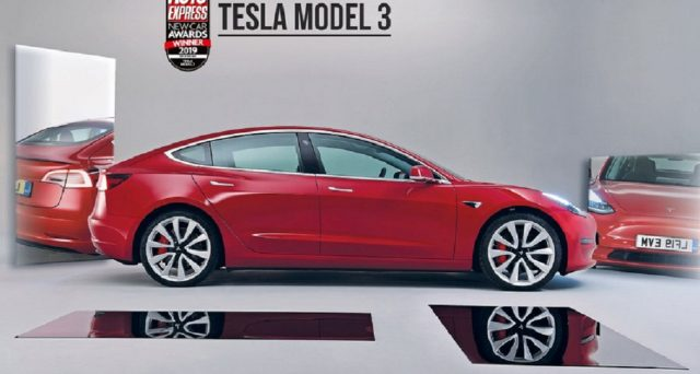 Tesla Model 3 ha vinto il premio