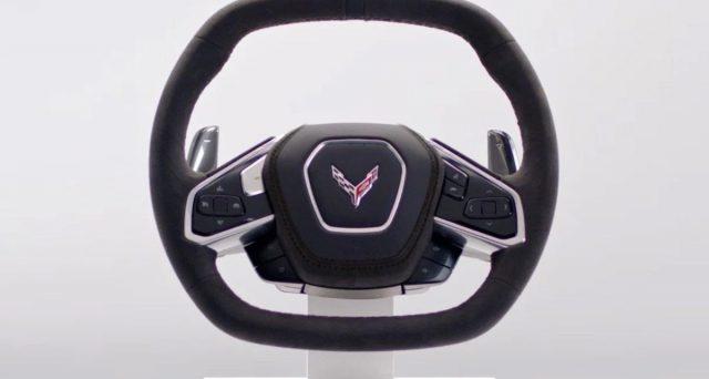 Nelle scorse ore mostrato il volante della nuova Chevrolet Corvette C8 che debutterà il 18 luglio