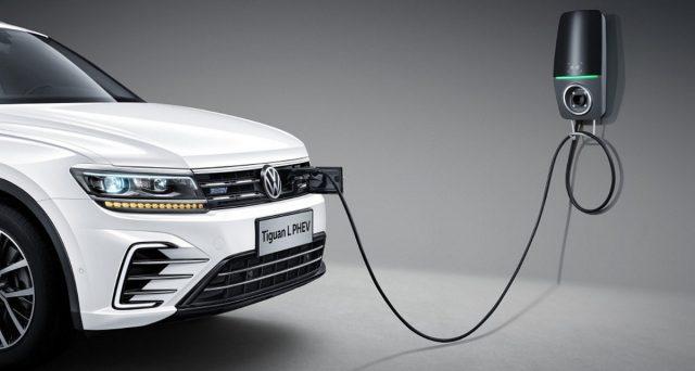 La gamma della Volkswagen Tiguan L, la versione cinese di Tiguan Allspace ha appena rilasciato una nuova versione ibrida plug-in