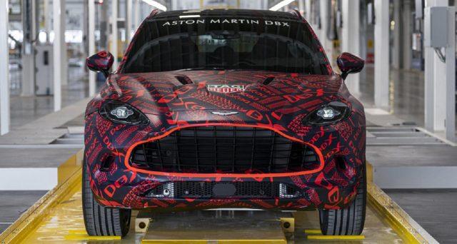Con l'avvicinarsi della presentazione di Aston Martin DBX, il primo SUV di Aston Martin è entrato nelle fasi finali di test