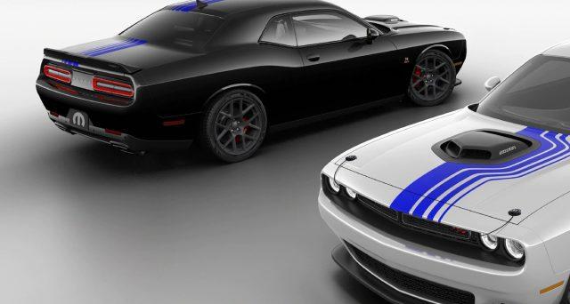 Dodge Challenger Mopar '19 è un'auto in edizione limitata lanciata per celebrare il decimo anniversario del brand di FCA
