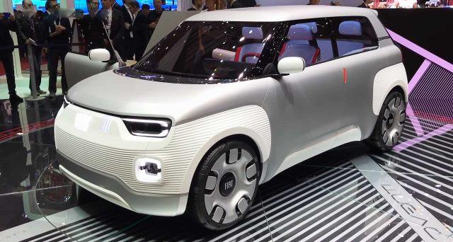Fiat potrebbe lanciare una versione completamente elettrica di Panda a partire dal 2023