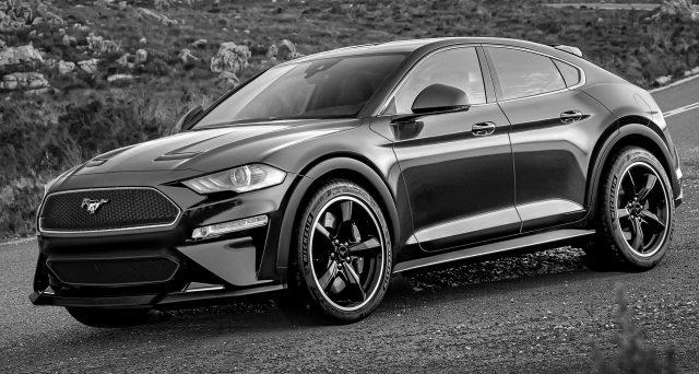 Ecco quale potrebbe essere l'aspetto del futuro Ford Mustang Suv che scopriremo al Los Angeles Auto Show