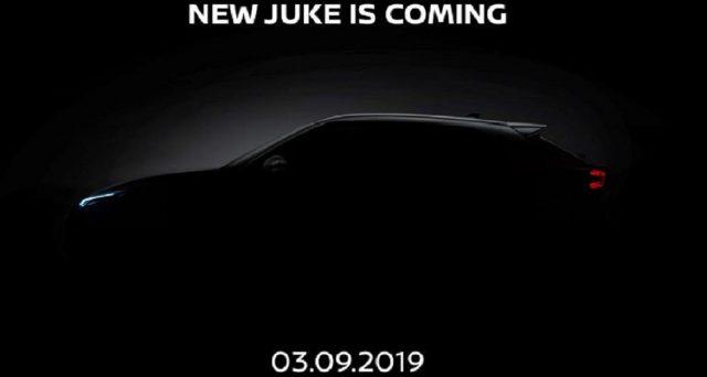 Nuova Nissan Juke: la nuova generazione del crossover sarà svelata ufficialmente il prossimo 3 settembre