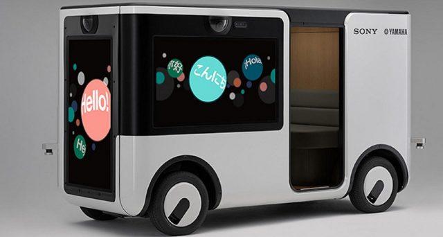 Sony e Yamaha si alleano per uno shuttle elettrico autonomo dotato di sensori di immagine avanzati, sensori a ultrasuoni e un sistema LiDAR