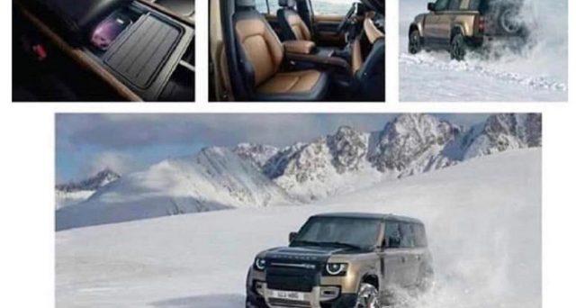 Land Rover Defender: prime immagini ufficiali del nuovo modello che domani 10 settembre sarà ufficialmente svelato al Salone di Francoforte