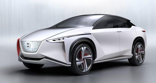 Nissan ha offerto ai concessionari statunitensi un'anteprima di un nuovo crossover elettrico