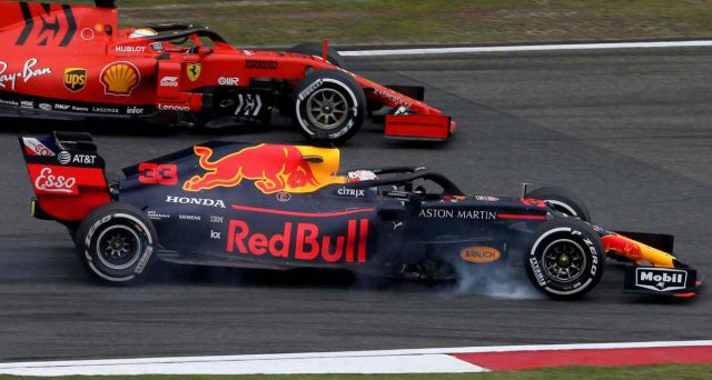 La Red Bull ha messo in dubbio l'improvviso aumento di potenza dell'ultimo propulsore della Ferrari