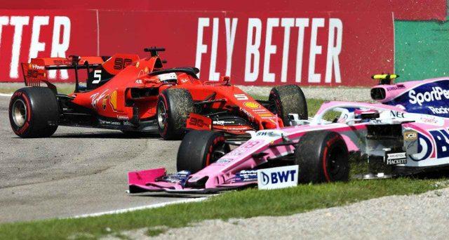 Sebastian Vettel rischia una squalifica per un Gran Premio dopo i fatti di Monza