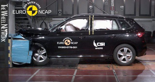 Skoda Kamiq ha ricevuto cinque stelle nei suoi test dall'European New Car Assessment Program